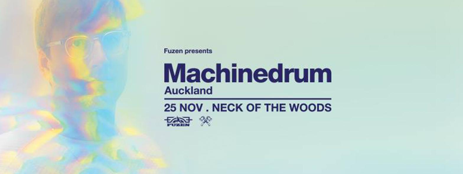 Machinedrum Flyer