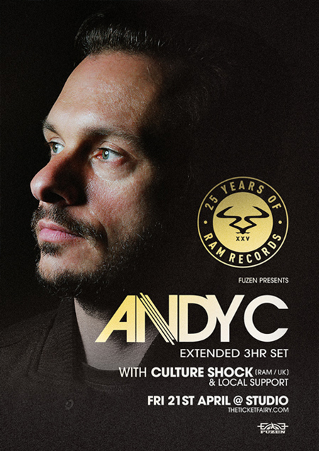 Andy C Flyer