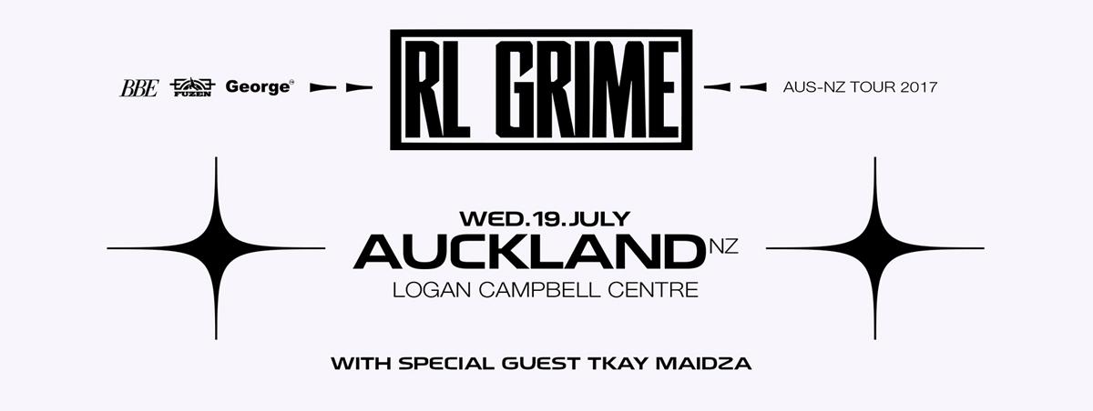 RL Grime Flyer
